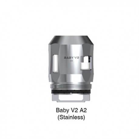 resistances baby v2 ss a2 02 ohms par 3 smoktech 2 1