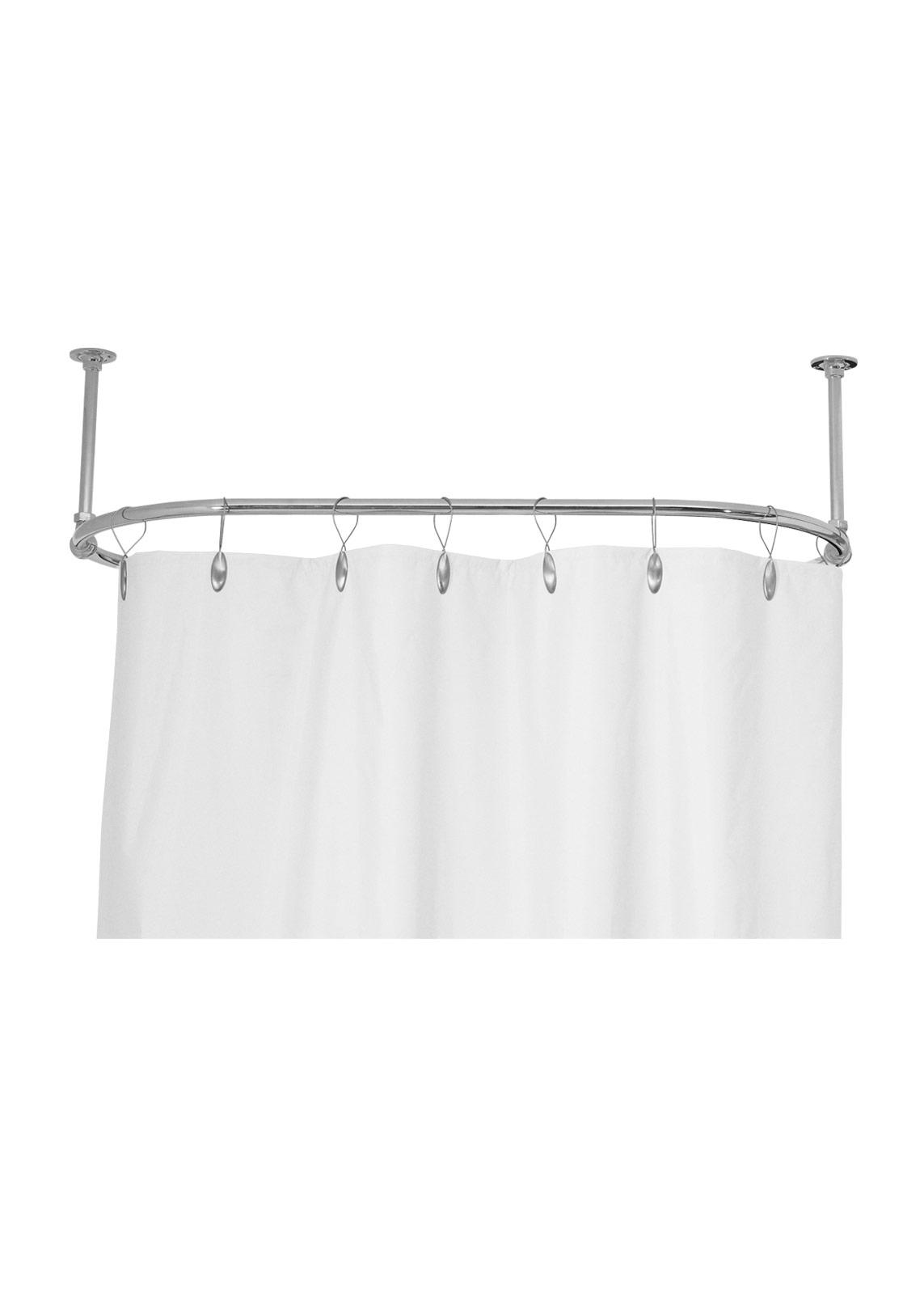 shower curtain rail gentry home