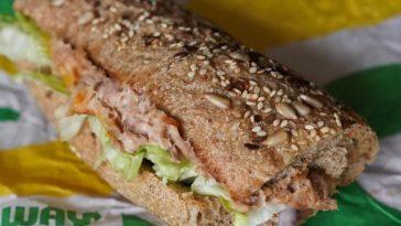 Les sandwichs au thon de Subway ne contiendraient pas de thon