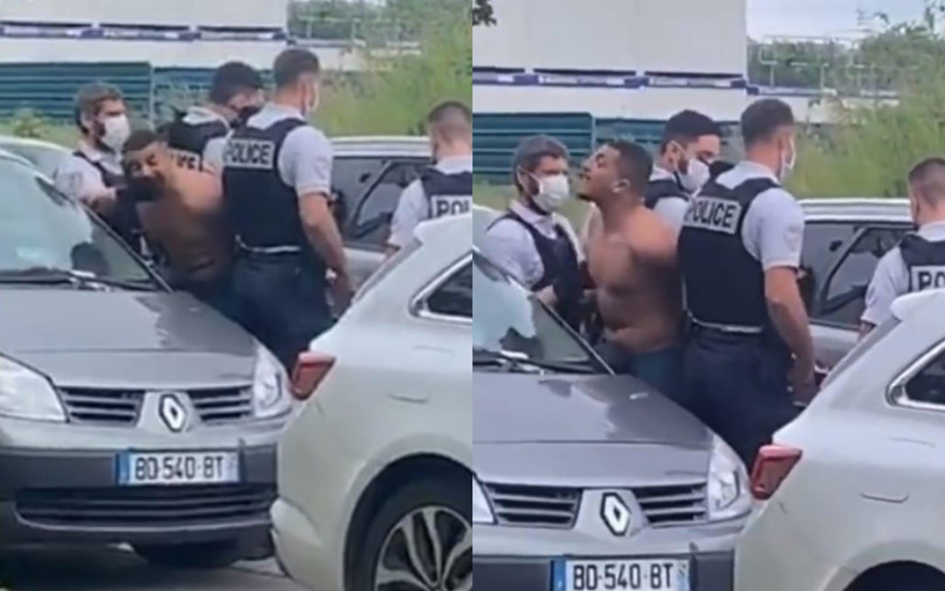 RK violemment arrêté par la police : les images font le buzz sur la toile