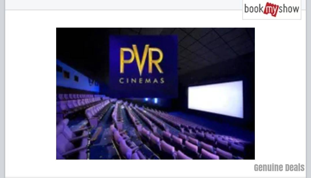 PVR Thursday Special Offer: Watch Movies at Rs. 59 & Rs. 99