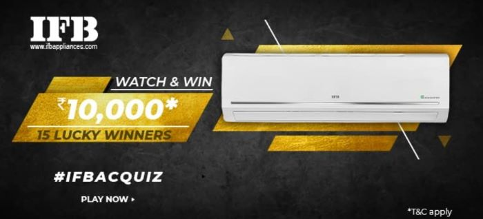 Amazon IFB AC Quiz Answers – Win Rs.10,000
