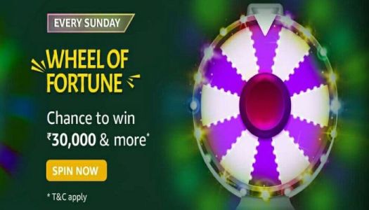 Amazon Spin The Wheel of Fortune