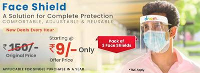 Droom Face Shield Sale