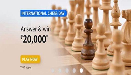 Amazon International Chess Day Quiz