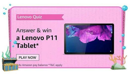 Amazon Lenevo Quiz