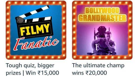 Amazon The Bollywood grandmaster Quiz