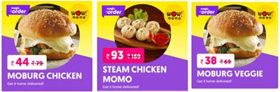Magicpin Wow Momo Deal