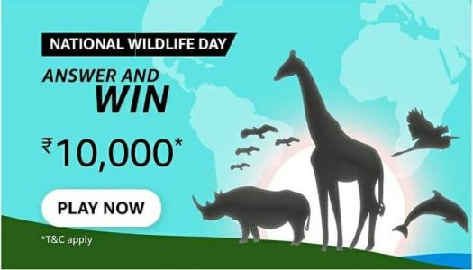 amazon national wildlife day quiz