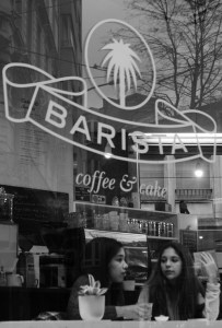 Barista, girl Latte, coffee