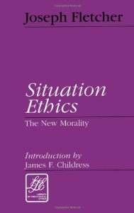 book cover for Situation Ethics