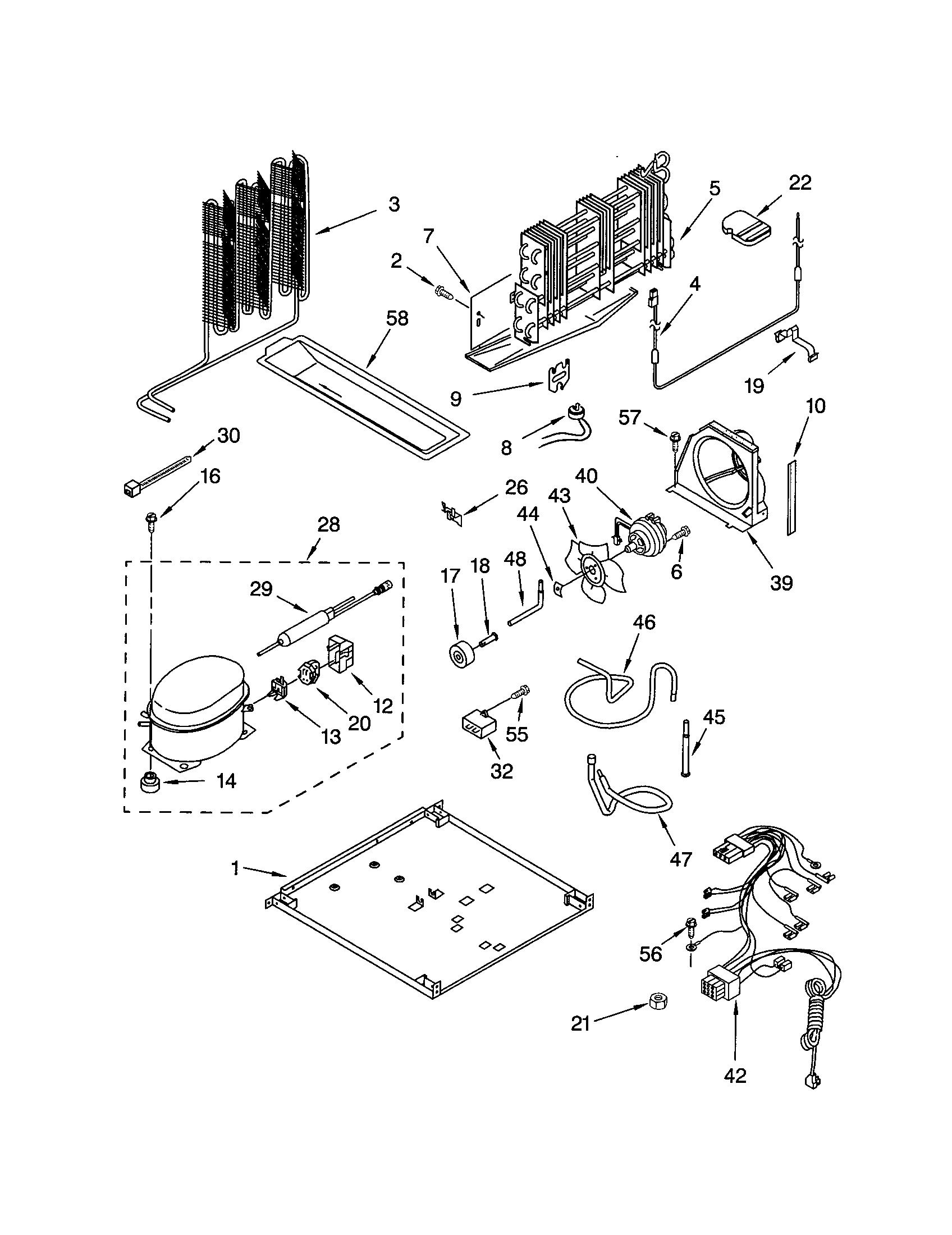 Kenmore 106 Bimetal Defrost Thermostat