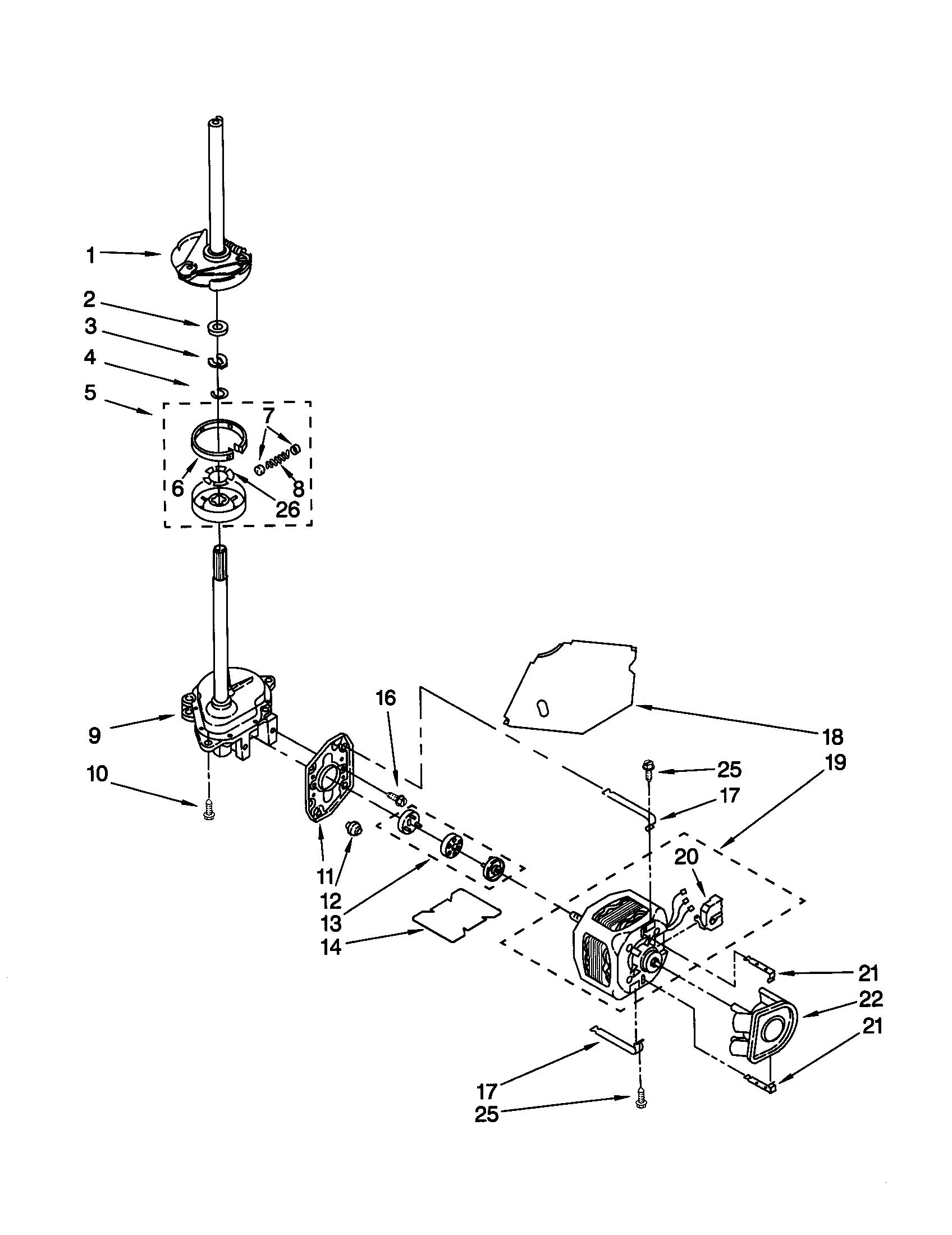 Kenmore 110 Water Drain Pump