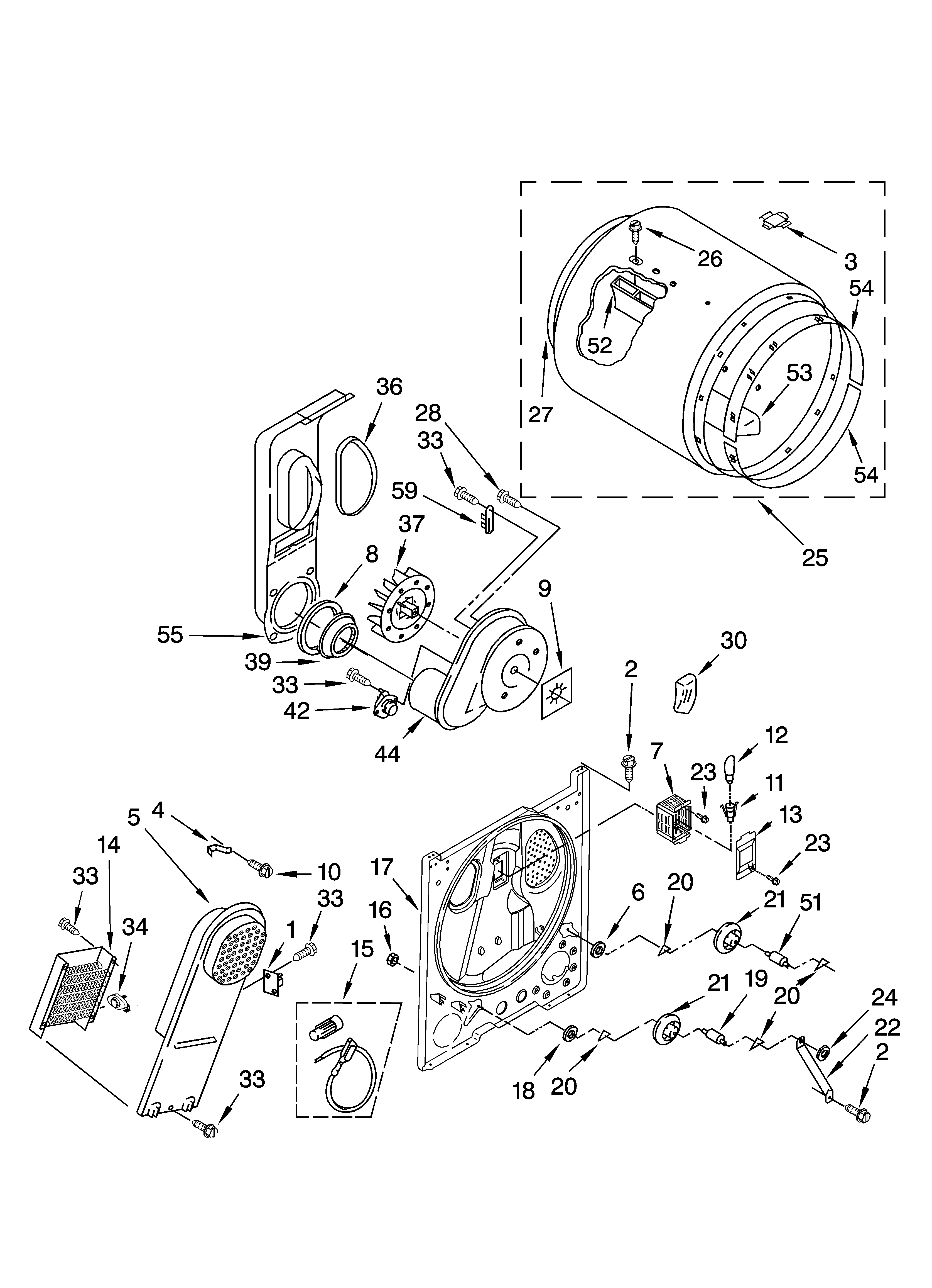Kenmore 110 Heating Element Connecting Wire
