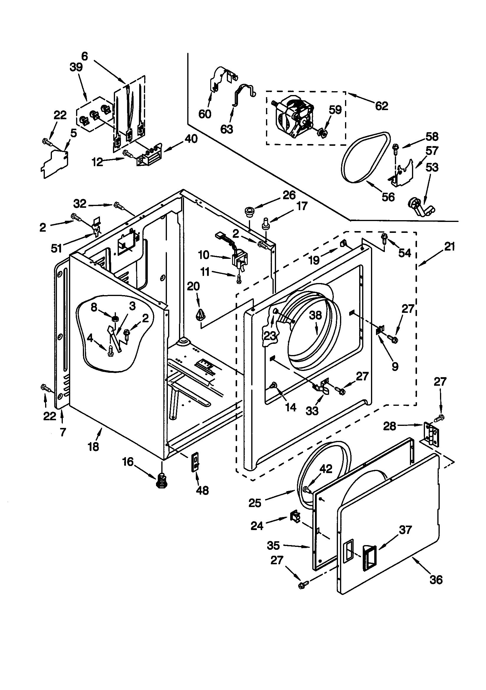 Kenmore 110 Cabinet Clip