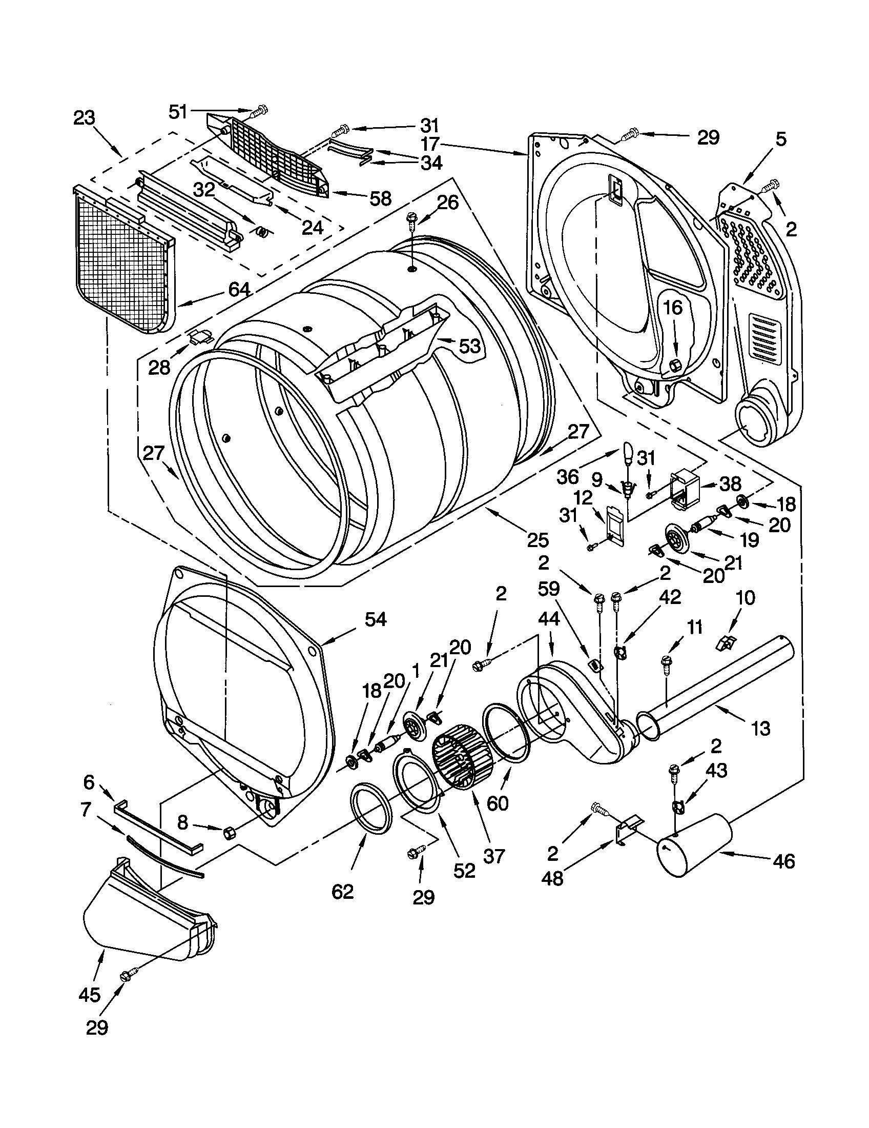 Kenmore 110 Thermal Fuse