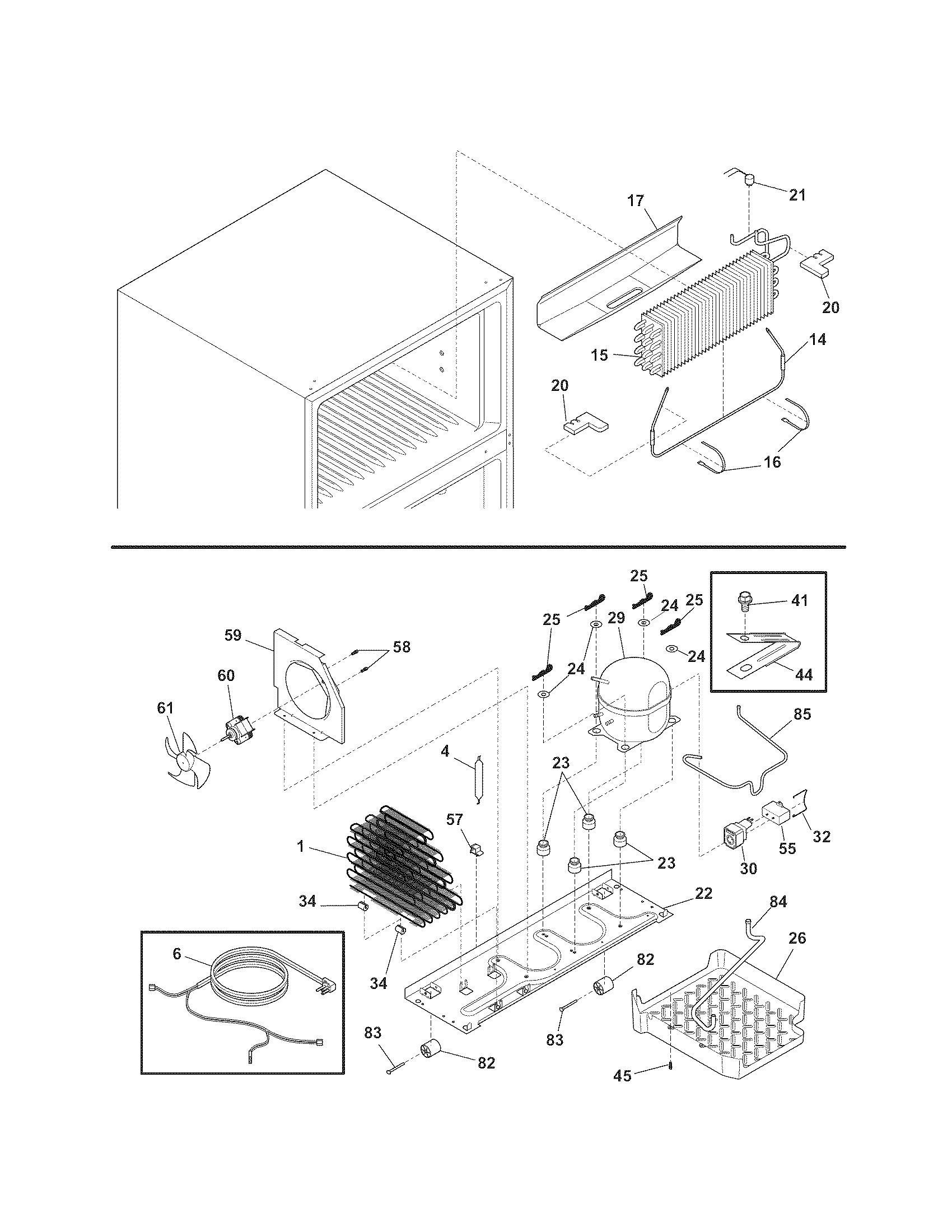 Kenmore Refrigerator Defrost Thermostat Location