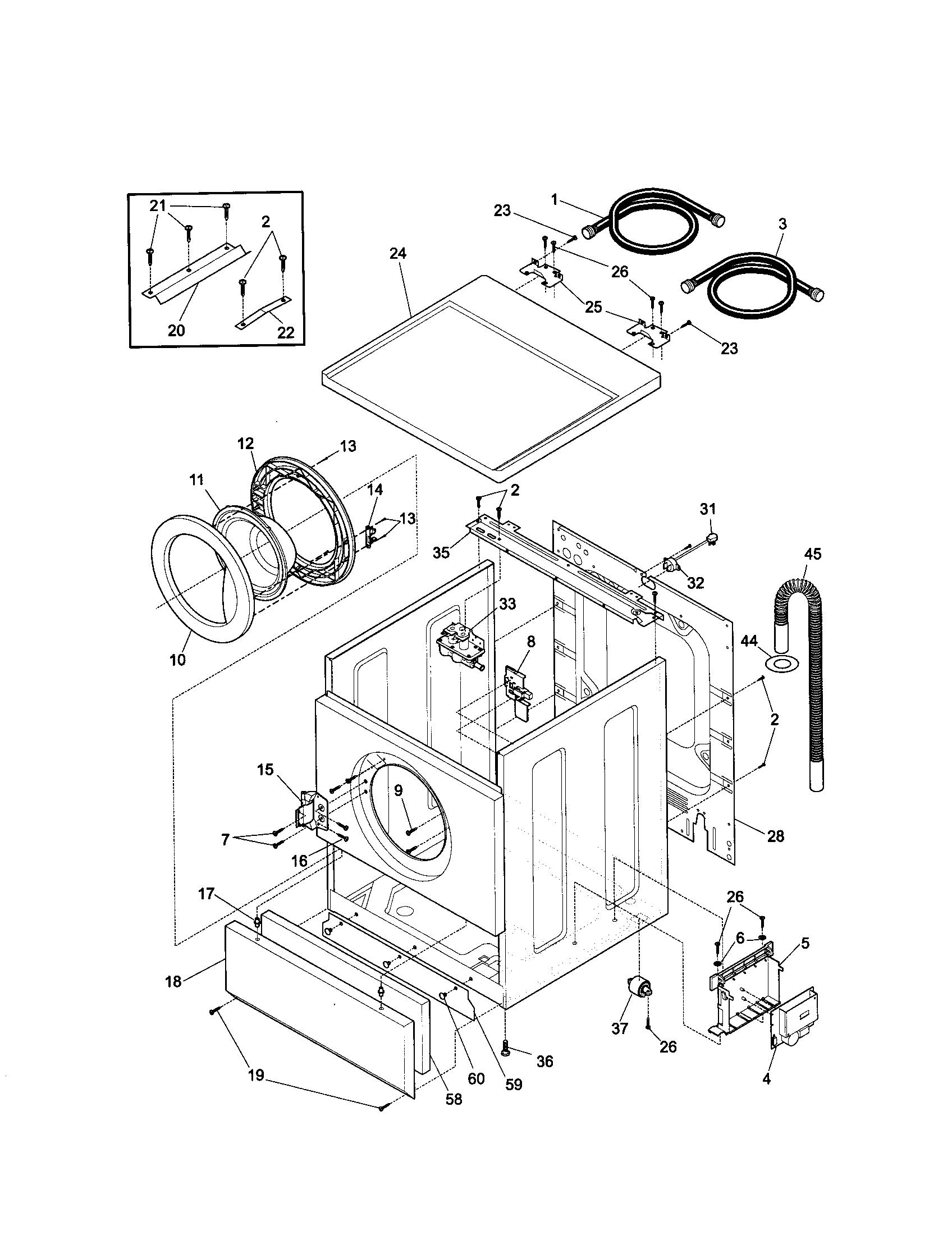 Kenmore 417 Motor Control Board