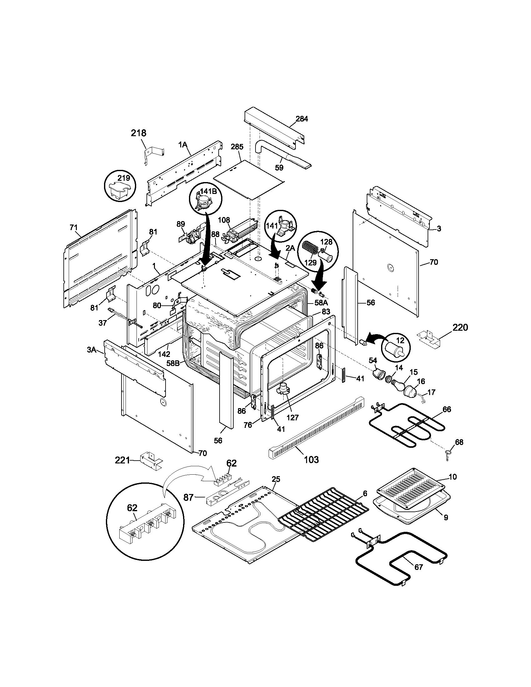 Kenmore 790 Blower Motor Cooling Fan Assembly