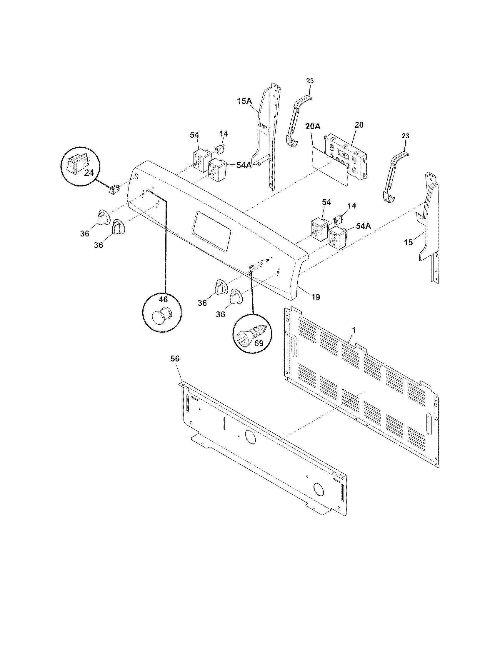 Kenmore 790 Range Indicator Light
