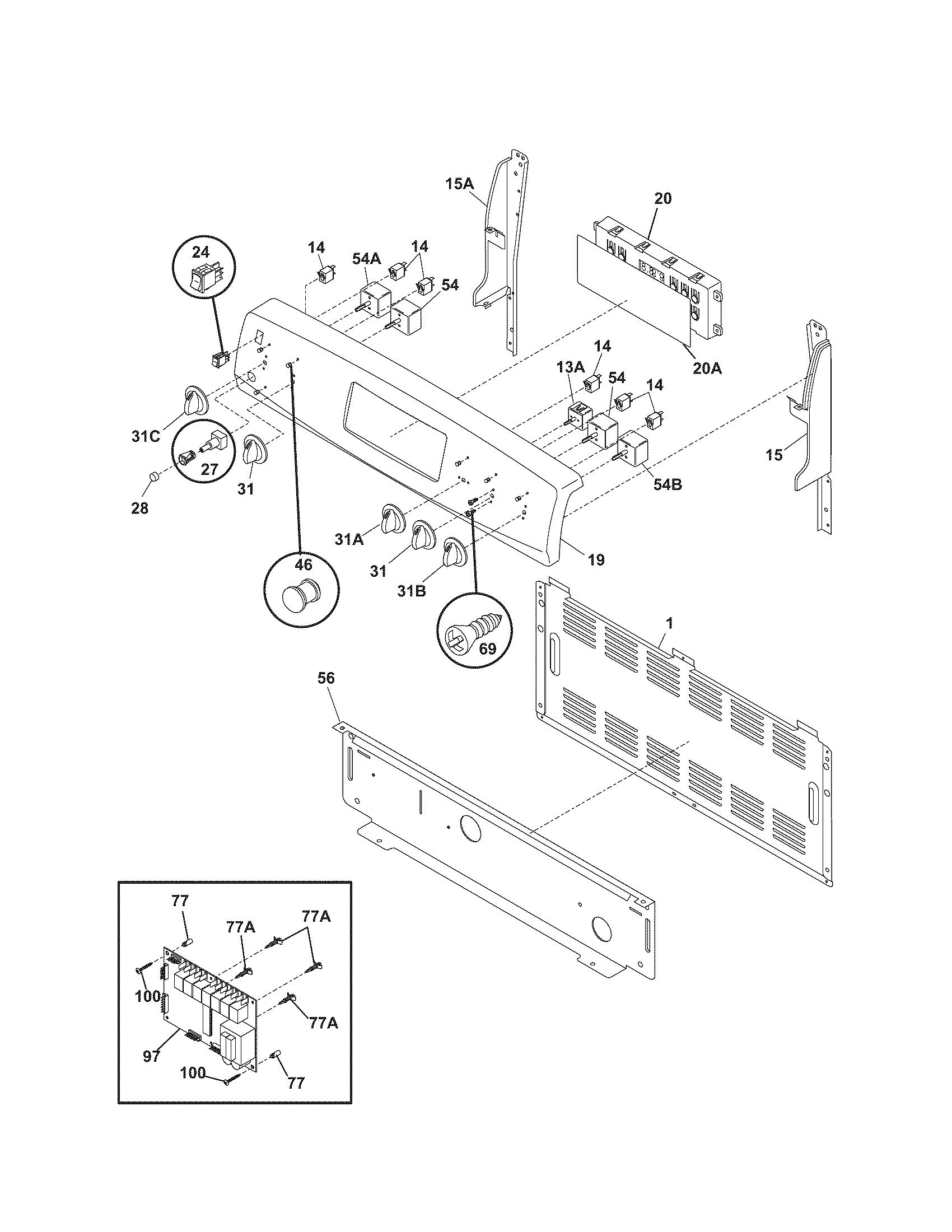 Kenmore 790 Oven Control Board