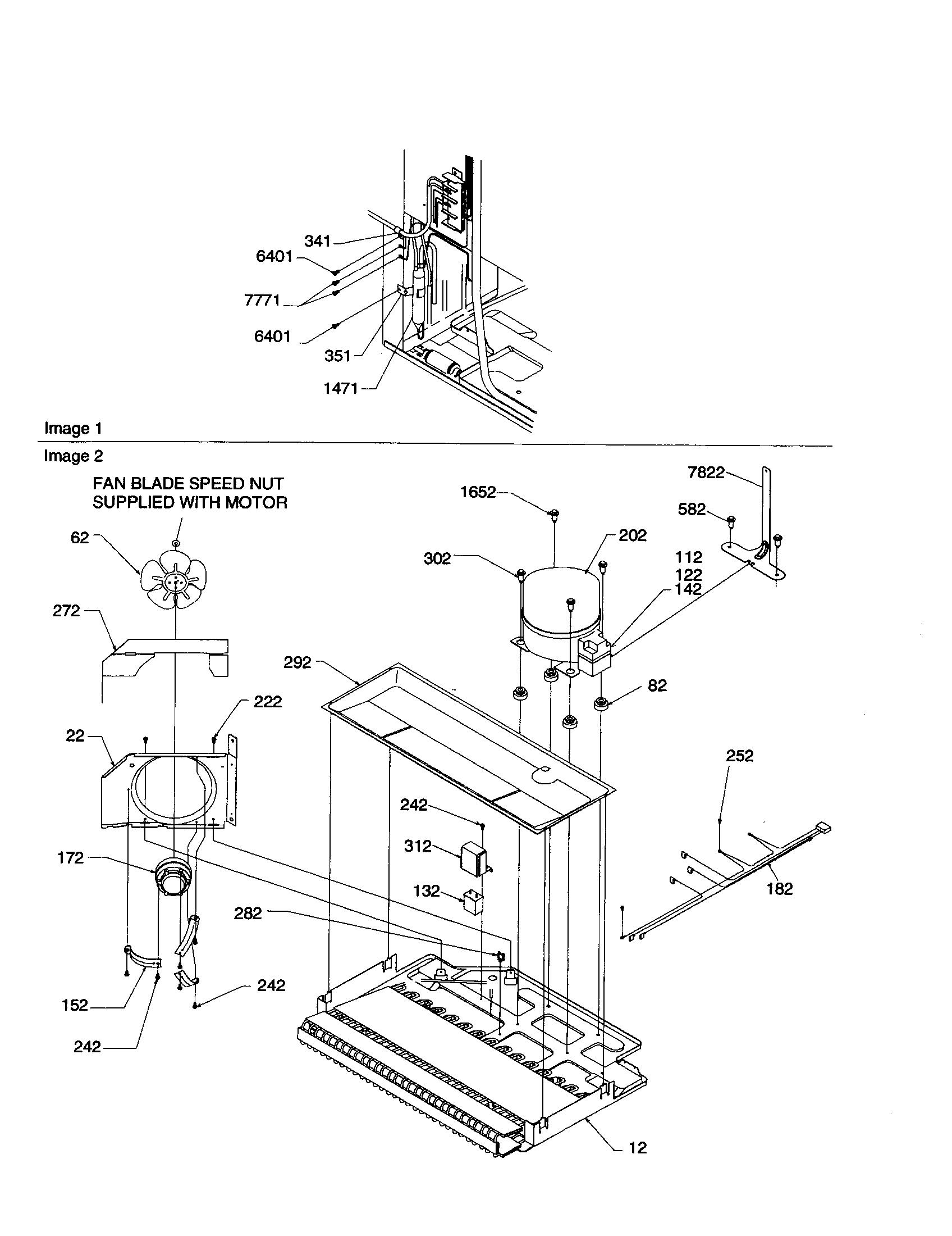 Amana Art Aw Refrigeration Compressor Kit