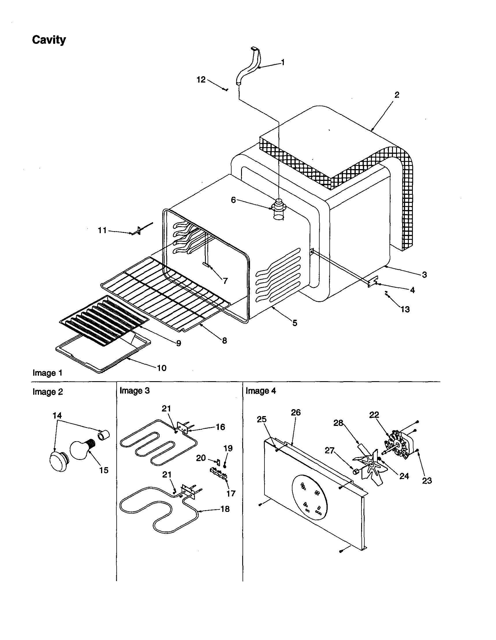 Amana Artc712ecc Oven Bake Element
