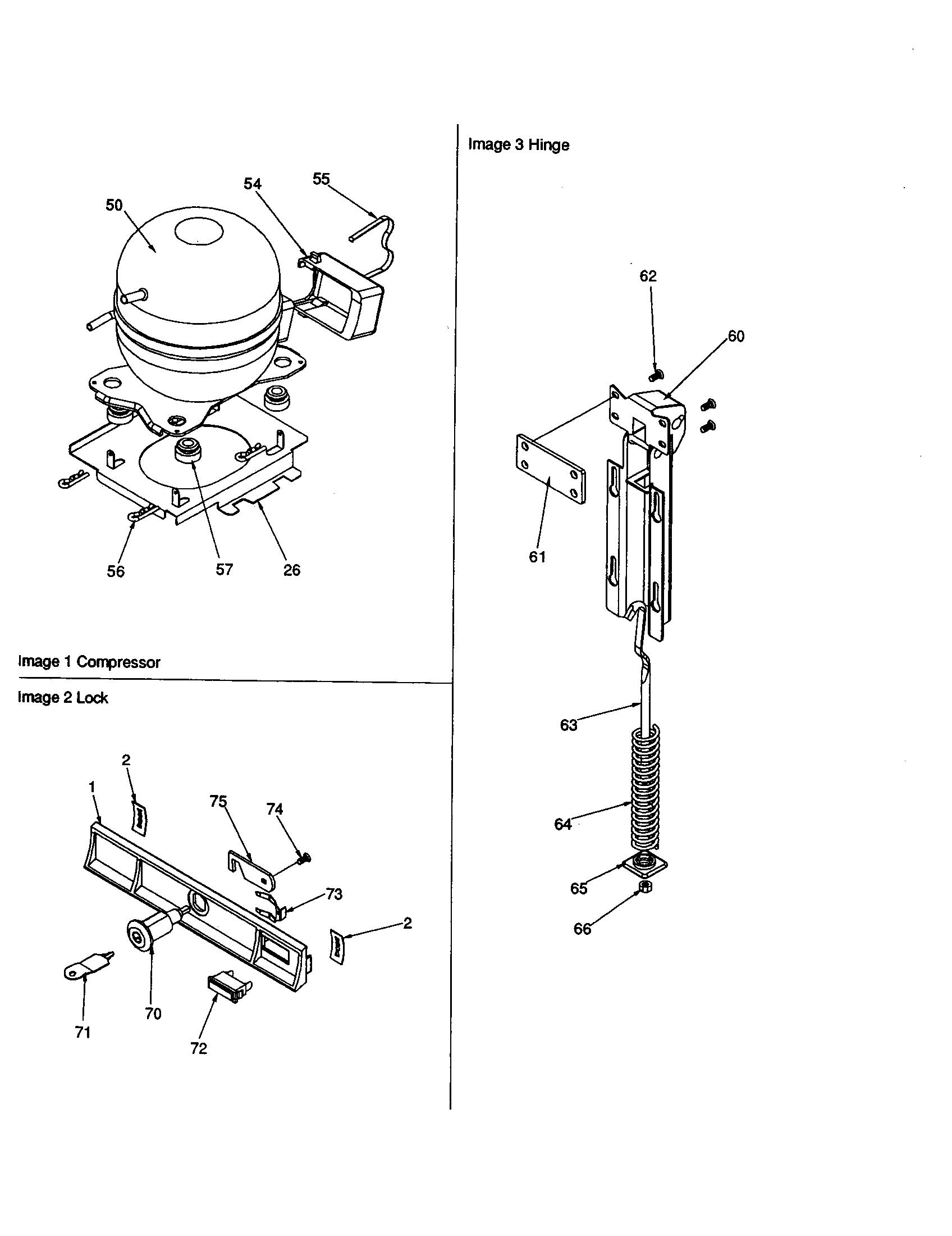 Jenn Air C101 J Refrigeration Compressor Kit