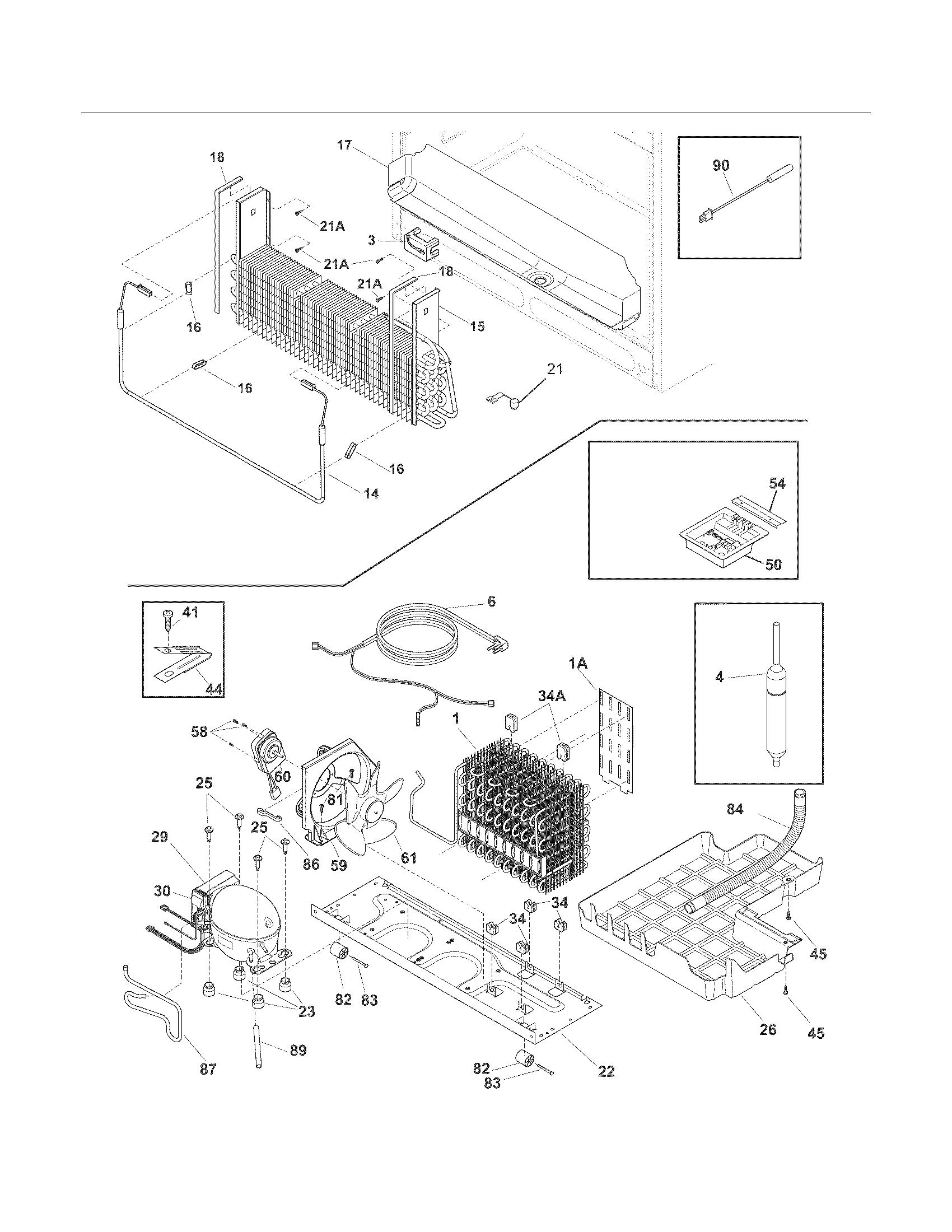 Frigidaire Lghn Mf2 Refrigerator Drain Tube