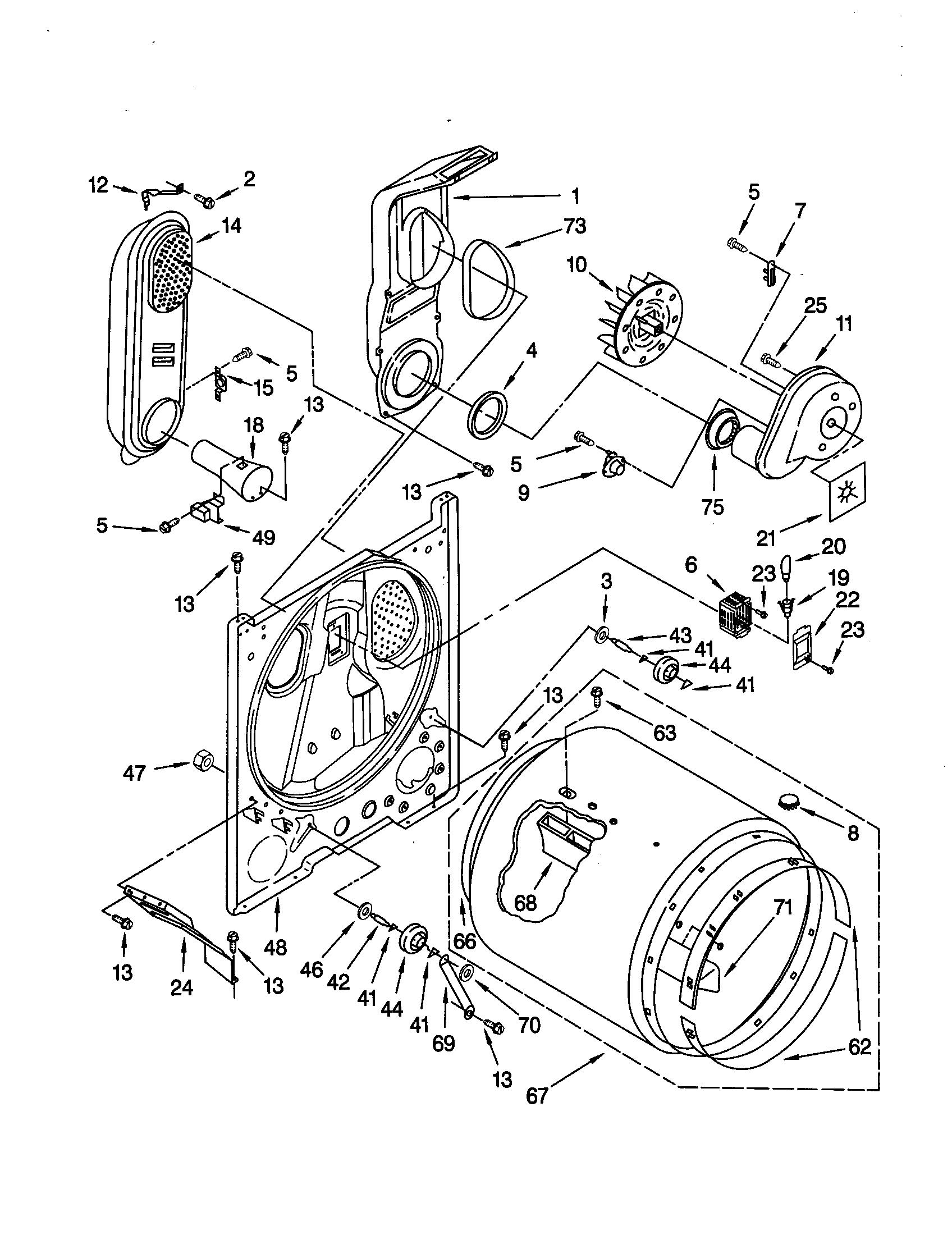Whirlpool Lgr Jq0 Drum Support Roller Kit