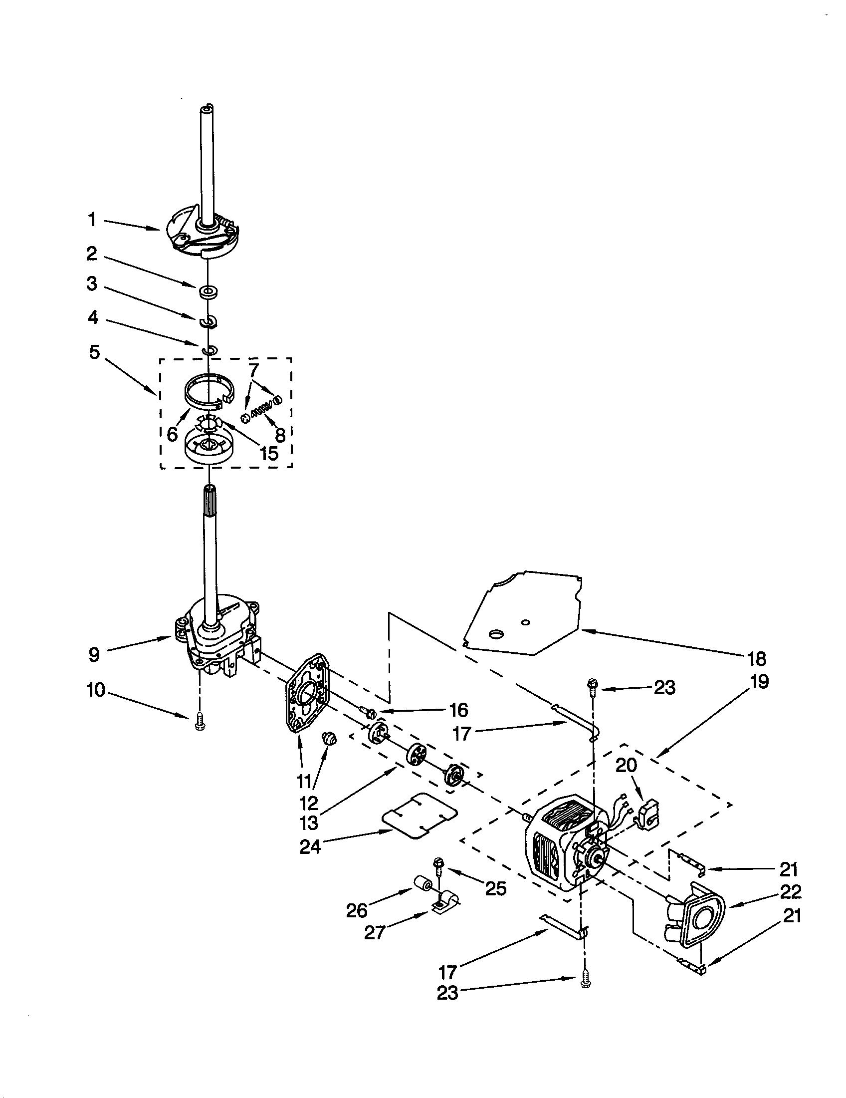 Whirlpool Lsq Jq0 Motor Coupling