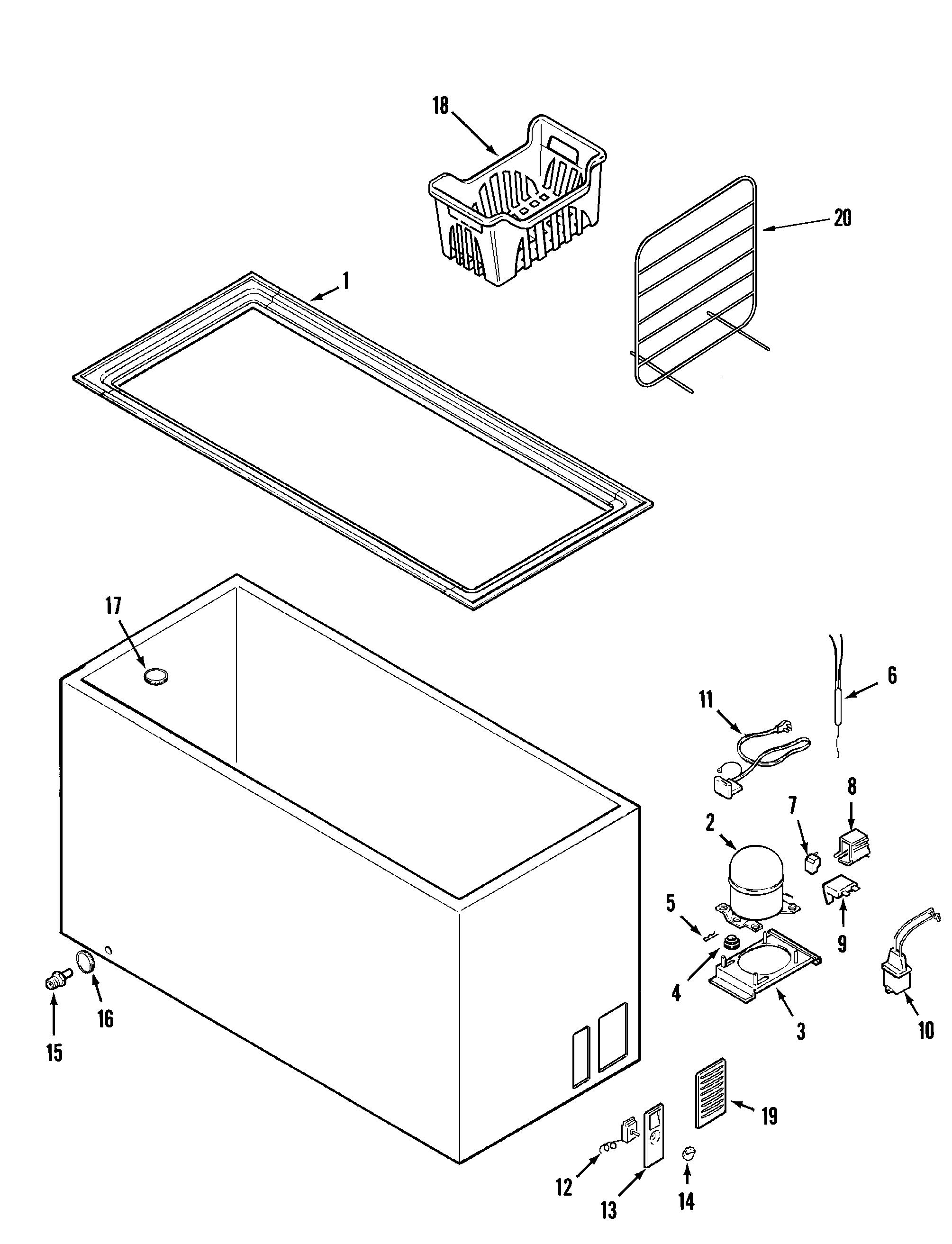 Maytag Mqc Bew Refrigeration Compressor Kit