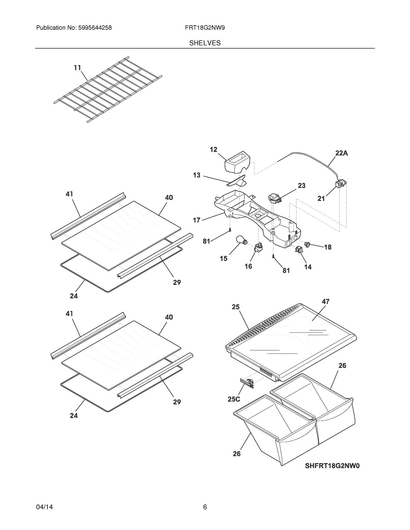 Frigidaire Frt18g2nw9 Control Box Wiring Harness Genuine Oem