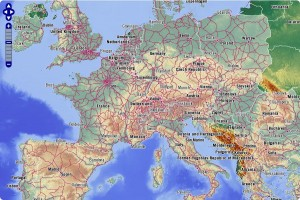 Map of Europe and European Travel Guide from Rail Europe