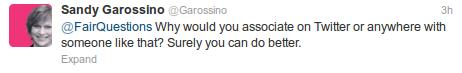 sandy garossino bullying