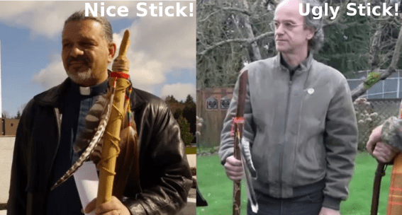 Talk slickly and carry a big stick...