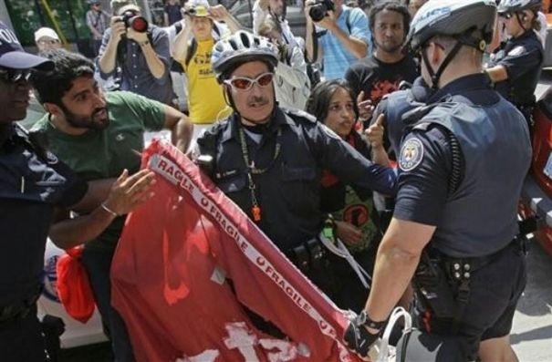 Harsha Walia at the G20...