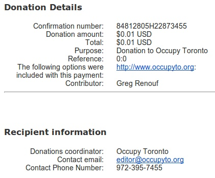occupy-toronto-paypal-us-dollar-account