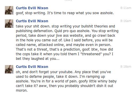 """""""Activist"""" Curtis Nixon at his worst..."""