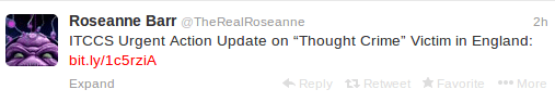 Really Roseanne, are you kidding?