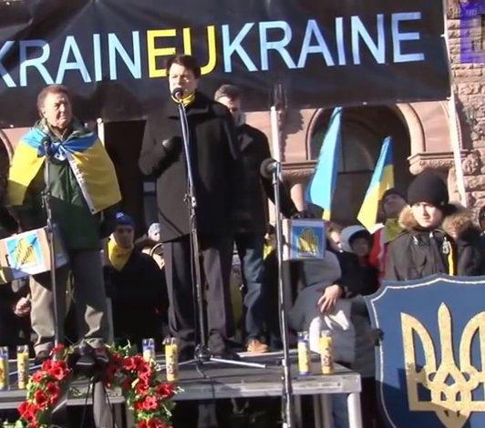Martin Shwec of Canadian Ukrainian Congress discusses bulletproof vests