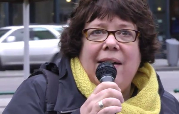"""Libby Davies: """"I think what we should most be concerned about is that American dirty politics has now come to Canada"""""""