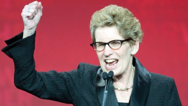 Does Kathleen Wynne Have Balls? Is she a coward? Something worse?