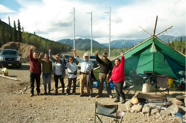 David Suzuki with the Klabona Keepers in Sept 2014