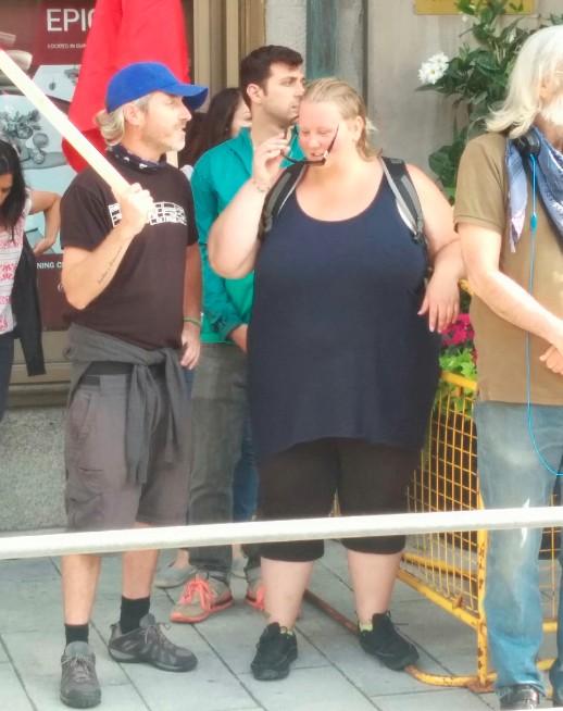 Line 9 arrestees Dave Vasey & Trish Mills