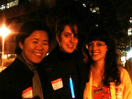 Kristyn Won-Tam (left) with Steph Guthrie (right)