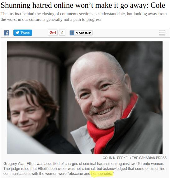 Bad faith at the Toronto Star