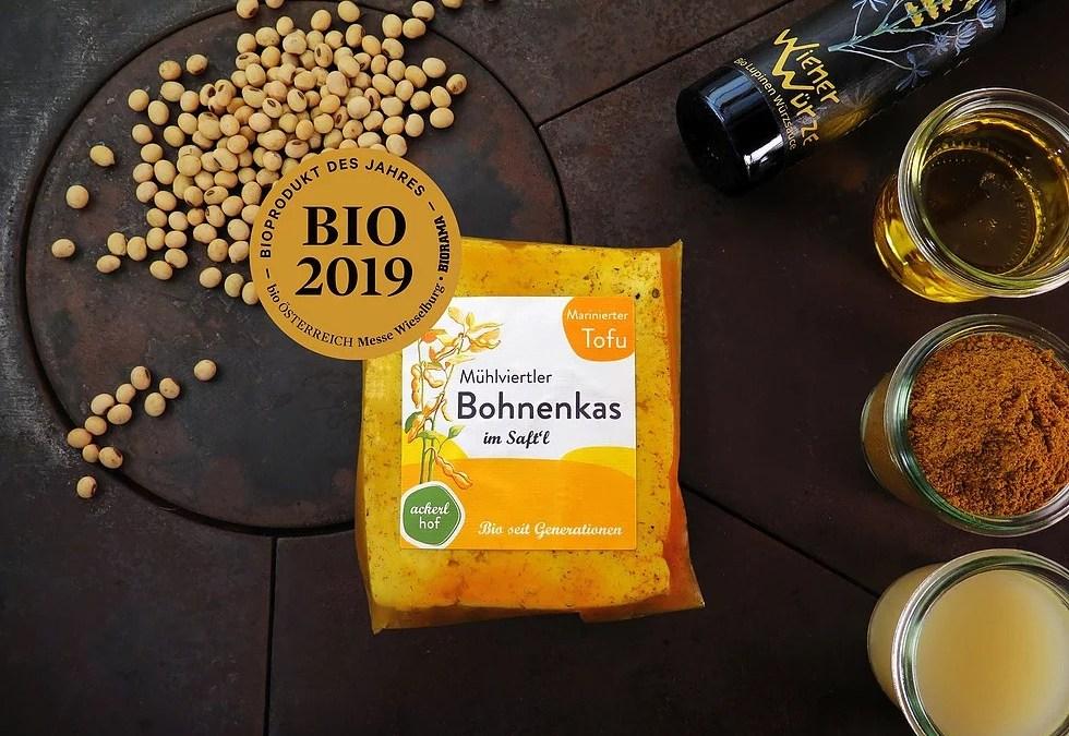 Wir Gratulieren dem Mühlviertler Bohnenkas zum BIO PRODUKT des JAHRES 2020