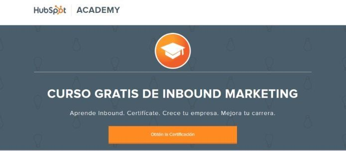 Certificación de Inbound con Hubspot
