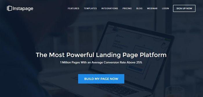 Landing Page Instapage